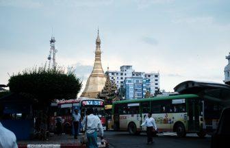 ヤンゴン風景